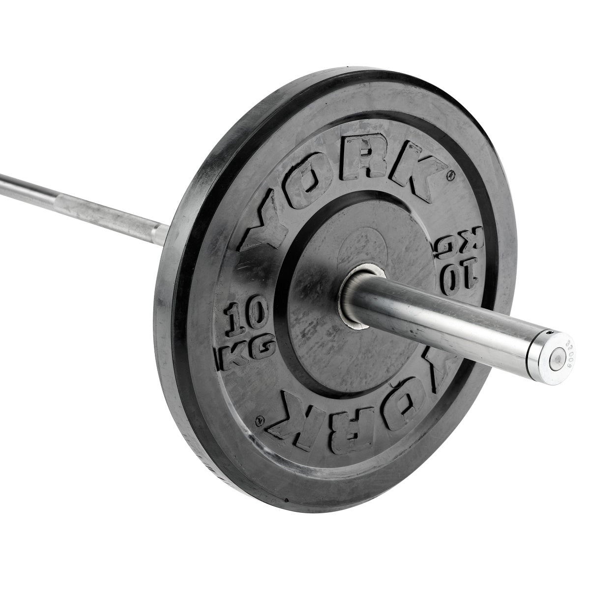 York barbell olympic solid rubber bumper plates york fitness