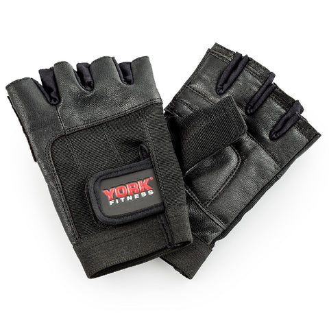 York Fitness Leather Training Glove (Large)