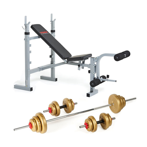 York Fitness 530 Bench Set