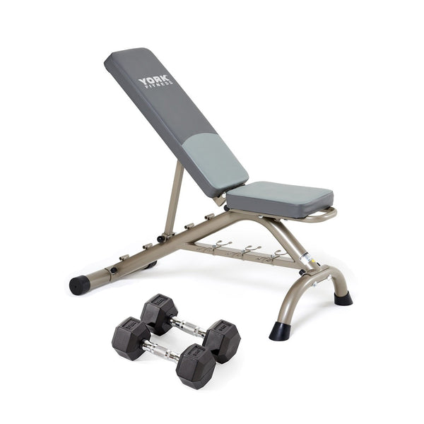 York Fitness Bench Set