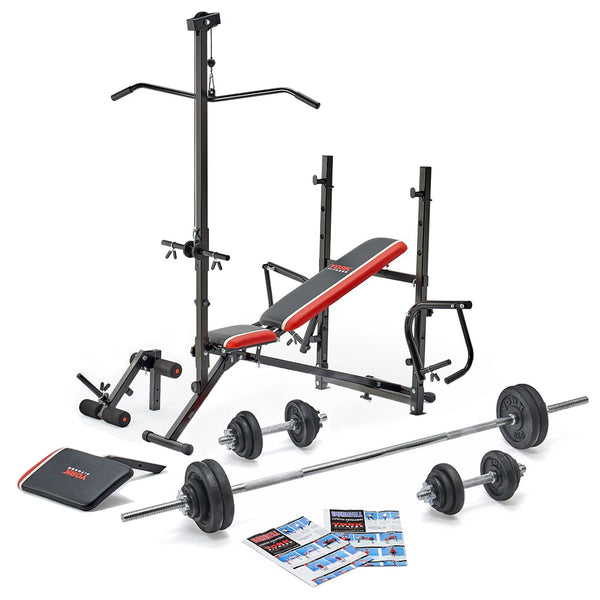 York Fitness Warrior Ultimate Bench Set