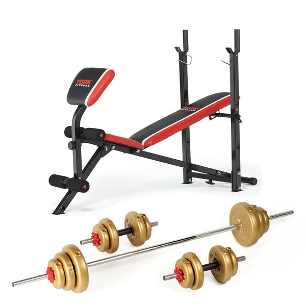 York Fitness Warrior Bench Set