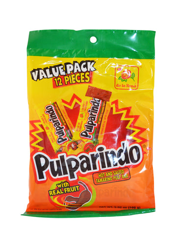 Pulparindo hot and salted tamarind pulp bar