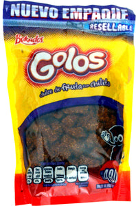 Golos fruit candy with chile