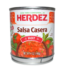 Herdez mexican style salsa
