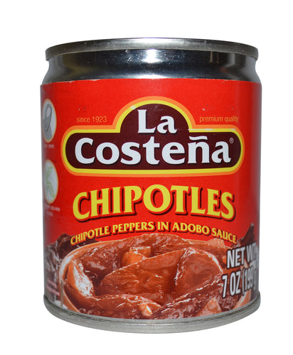La Costeña chipotles pepper in adobo sauce