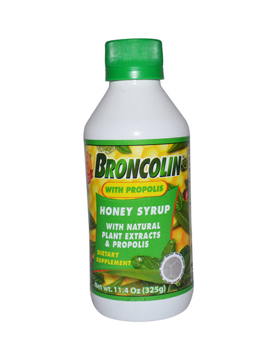 Broncolin honey syrup