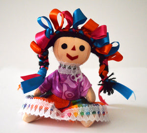 Traditional rag doll