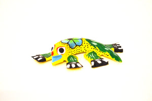 Lizard Alebrije yellow