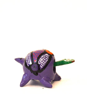 Turtle Alebrije purple