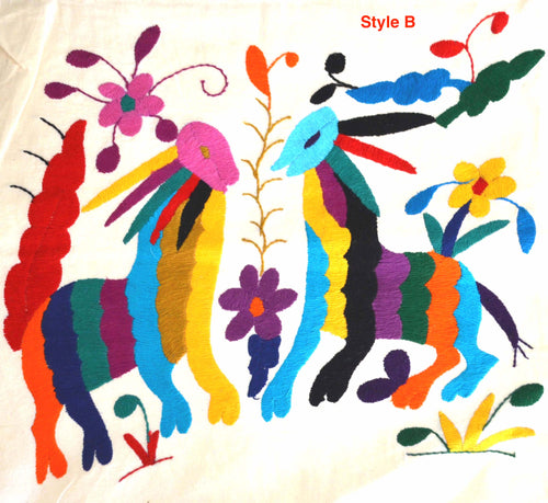 Otomi Multicolor pillow cover