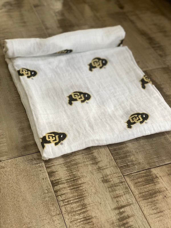University of Colorado Swaddle Blanket - Coming Soon