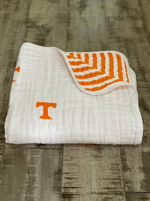 University of Tennessee Muslin Blanket