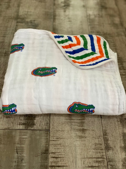 University of Florida Muslin Blanket