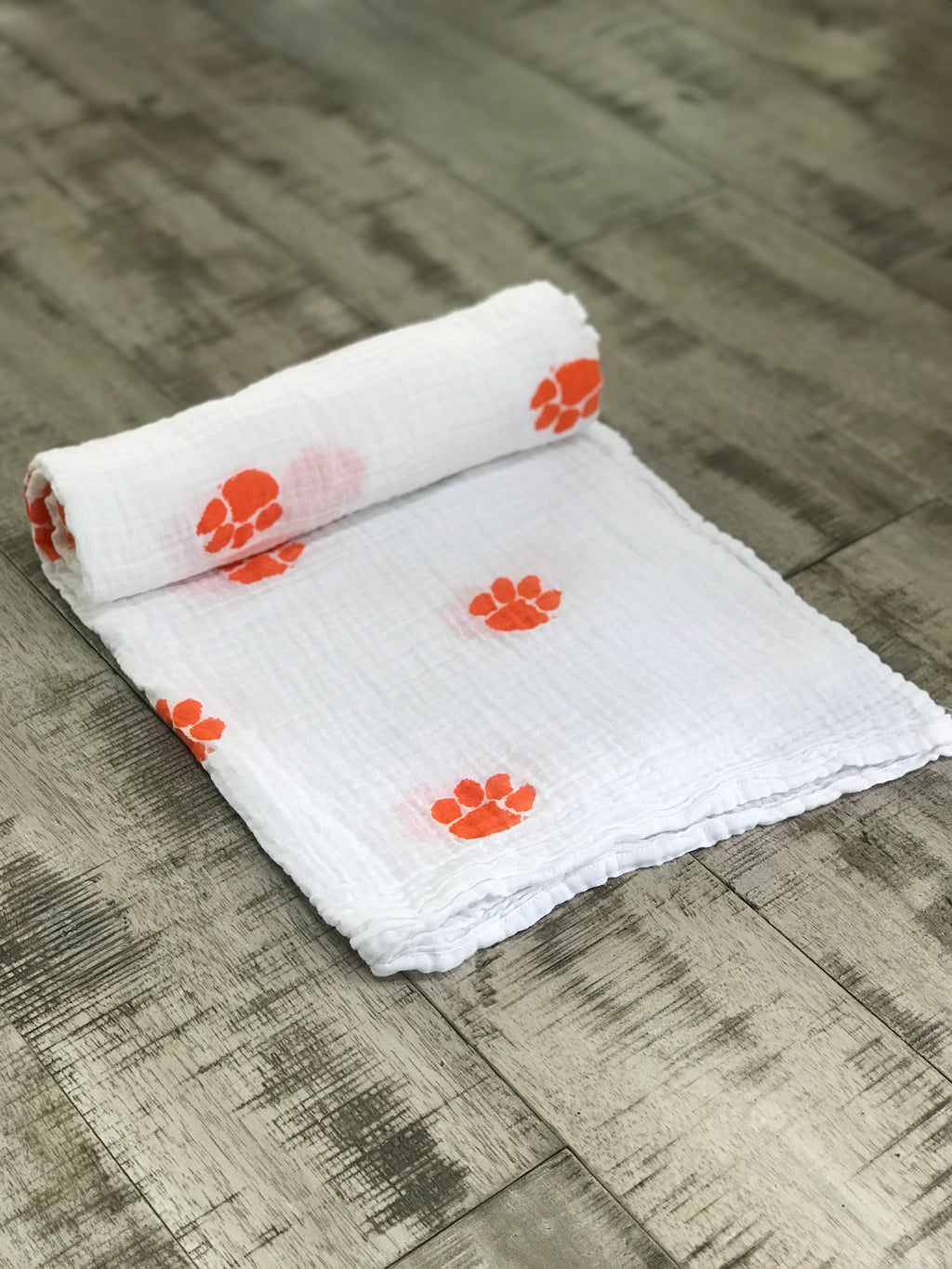 Clemson University Swaddle Blanket - Coming Soon