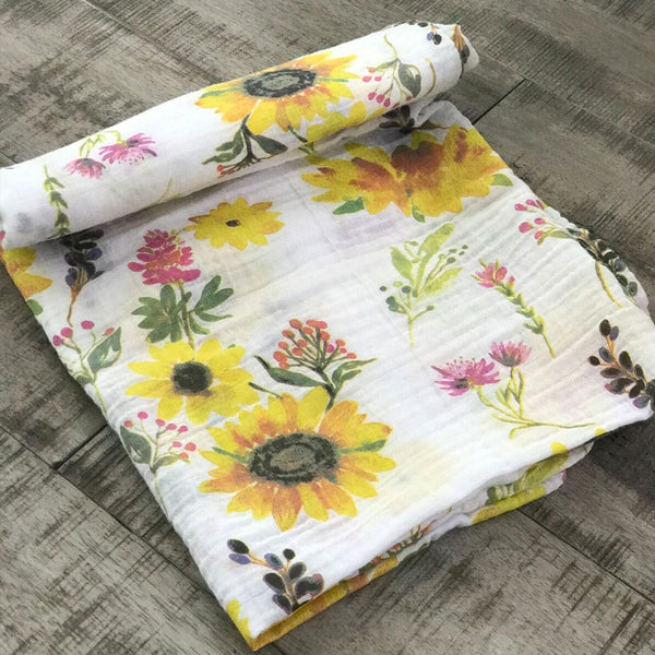 Sunflower Swaddle