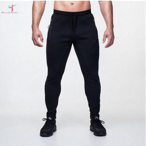 2017 Gyms Men Joggers Casual Men fitness sweatpants Joggers pantalon homme Trousers sporting clothing Bodybuilding pants