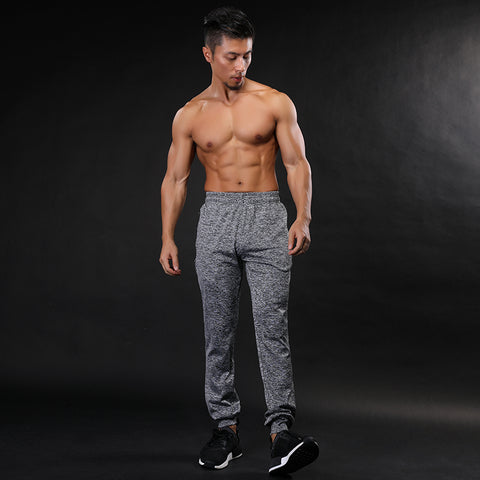 2017 GYMS New Men Pants Compress Gymming Leggings Men Fitness Workout Summer Sporting Fitness Male Breathable Long Pants