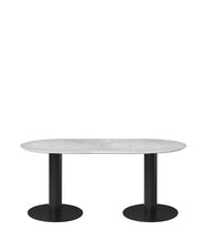 2.0 Elliptical Dining Table - Curio Cavern