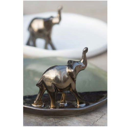 Elephant on Plate - Curio Cavern