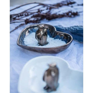 Penguin Heart Bowl - Curio Cavern