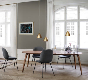 GUBI Dining Table -Elliptical - Curio Cavern
