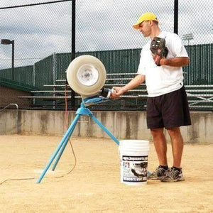 Single Wheel Baseball Pitching Machines