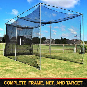 The 'Masters' Series Of Golf Practice Cages By Cimarron-Golf Equipment-Cimarron-10'x10'x10' Cage With Complete Frame-Unique Sports