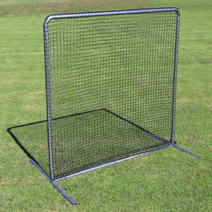 Commercial 7'x7' Field Screen With #42 Net By Cimarron-Baseball & Softball Equipment-Cimarron-Unique Sports