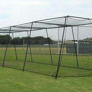 Batting Cage With #45 Net And 2-Inch Frame By Muhl Tech-Baseball & Softball Equipment-Muhl Tech-Unique Sports