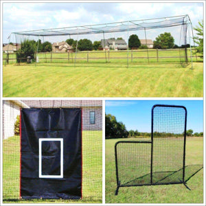 #24 Cage Net And 50' Frame Practice Package By Cimarron-Baseball & Softball Equipment-Cimarron-Unique Sports
