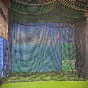#84 Twisted Poly 12'x14' Cage Backdrop By Cimarron Sports-Baseball & Softball Equipment-Cimarron-Unique Sports