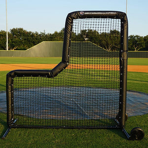 Pro Series L-Screens With #60 Netting By Muhl Tech-Baseball & Softball Equipment-Muhl Tech-Unique Sports