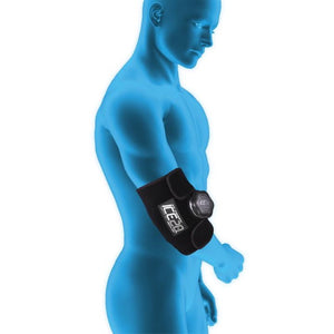 ICE20 Real Ice Compression Therapy Wraps By Bownet-Sports Medicine-Bownet-Elbow, Forearm, Wrist, Biceps, Triceps, And Ankle - Single Ice Bag-Unique Sports