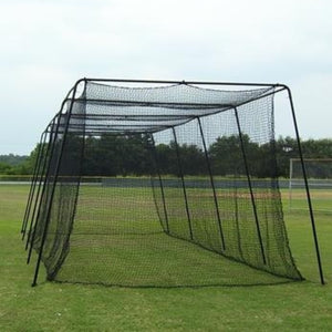 Cage With #45 Net And Complete 2-Inch Frame By Muhl Tech-Baseball & Softball Equipment-Muhl Tech-Unique Sports
