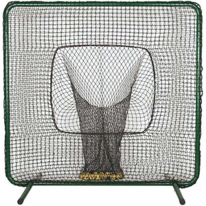 ATEC Batting Practice Screen with Ball Sock-Baseball & Softball Equipment-ATEC-Unique Sports
