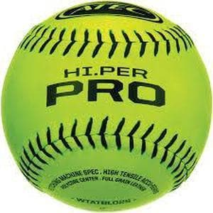 Regulation Weight And Size Hi.Per Pro Balls By ATEC-Baseball & Softball Equipment-ATEC-Softballs (Dozen)-Unique Sports