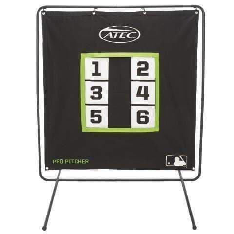 The Pro Pitcher's 6-Zone Practice Screen By ATEC
