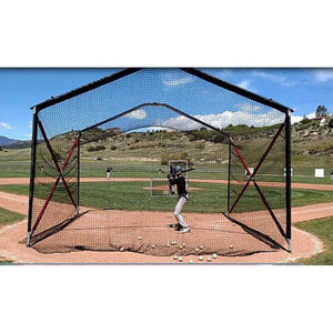 The 'Home Plate' Collapsible Batting Cage By BATCO-Baseball & Softball Equipment-Batco-Unique Sports