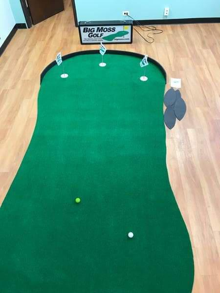 Big Moss The General V2 Golf Putting Green