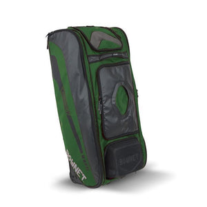 Bownet The Commander Catcher's Bag-Baseball & Softball Equipment-Bownet-Dark Green-Unique Sports