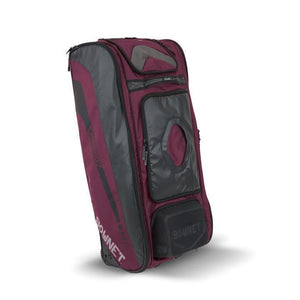 Bownet The Commander Catcher's Bag-Baseball & Softball Equipment-Bownet-Maroon-Unique Sports