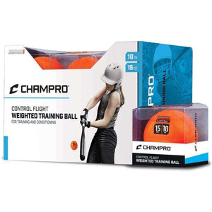 "Champro 10"" Control Flight Ball-Baseball & Softball Equipment-Champro-1 Dozen-Unique Sports"