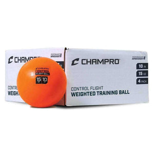 "Champro 10"" Control Flight Ball-Baseball & Softball Equipment-Champro-4 Pack in White-Unique Sports"