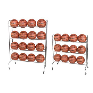 Ball Rack With Coasters By Champro Sports-Basketball Equipment-Champro-Unique Sports