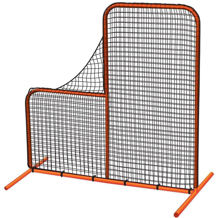 The 'Brute' L-Shaped Pitcher's Safety Screen By Champro