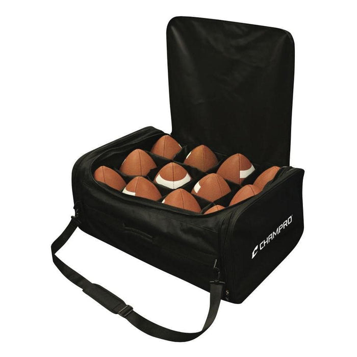 12-Ball Capacity Football Carry Bag By Champro Sports