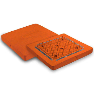 "Champro Spyder Base-Baseball & Softball Equipment-Champro-15"" X 15"" X 3"" 1 BASE - ORANGE-Unique Sports"