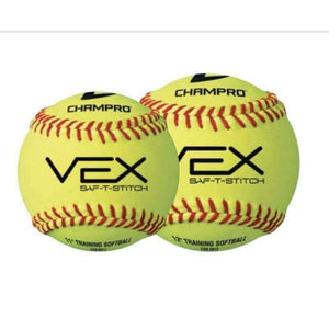 Champro Vex Practice Softballs (1 Dozen)-Baseball & Softball Equipment-Champro-Unique Sports