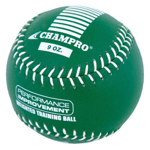 Weighted Training Softballs By Champo-Baseball & Softball Equipment-Champro-9oz-Unique Sports